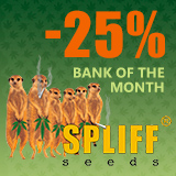 - 25% for Humboldt Seeds