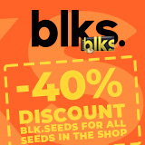 40% OFF BLK SEEDS!